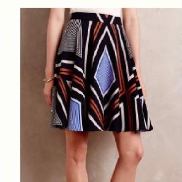 Anthropologie Dresses & Skirts - Anthropologie Skater Skirt